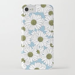 Daisy Blue iPhone Case