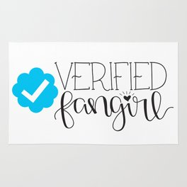 Verified Fangirl Rug