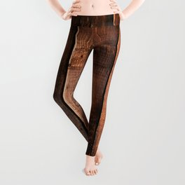 Natural Wood Boards Leggings