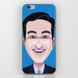 Comics of Comedy: Stephen Colbert iPhone Skin