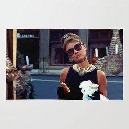 Audrey Hepburn #3 @ Breakfast at Tiffany's Rug