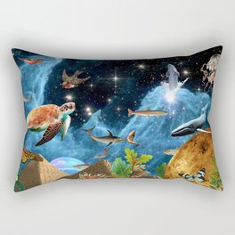 HEAVEN AND EARTH Rectangular Pillow