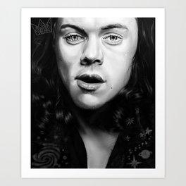 Stars in your eyes Art Print