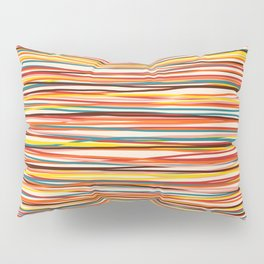 Colored Lines #1 Pillow Sham