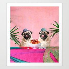 Spughetti Art Print