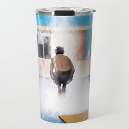 Cannonball...A much bigger splash Travel Mug