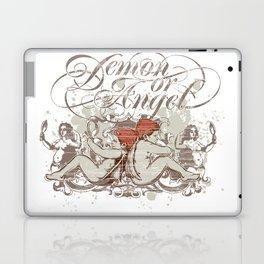 Demon or angel Laptop & iPad Skin