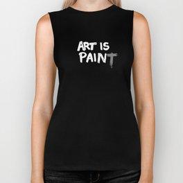 Art is Pain(T) Biker Tank