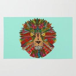 lion mint Rug