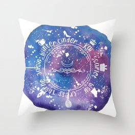 The Lunar Chronicles Throw Pillow