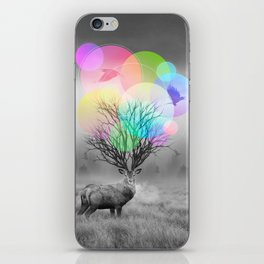 Calm Within the Chaos iPhone Skin