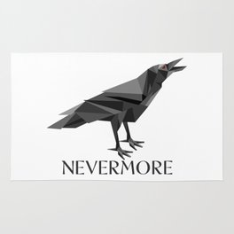 NEVERMORE RAVEN Rug