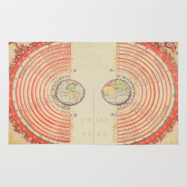 A Geocentric Universe Rug