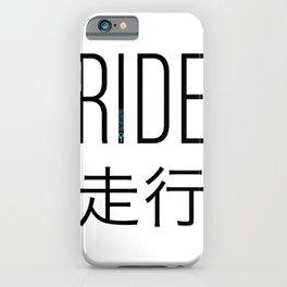 RIDE2 iPhone Case