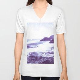 Vintage Coastal Sea Unisex V-Neck