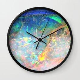 Ocean Opal Wall Clock