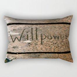 Willpower Rectangular Pillow