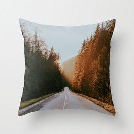 Golden Ears Throw Pillow