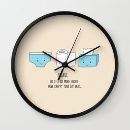 How was your day Wall Clock