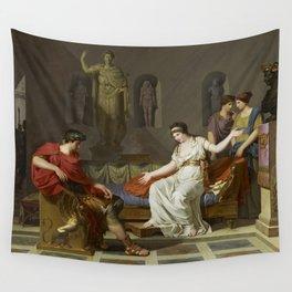 Cleopatra and Octavian Wall Tapestry