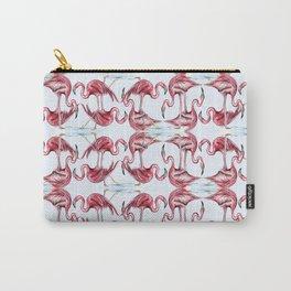 Frivolous Flamingos Carry-All Pouch