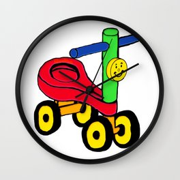 Timmy The Tricycle Wall Clock