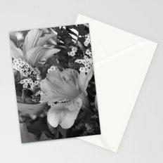 Freesia 3 B&W Stationery Cards