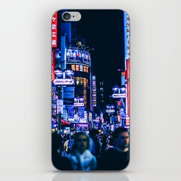 The light of night's streets_6 iPhone Skin