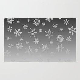 Snow Flurries Rug