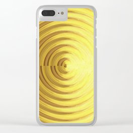Confused Clear iPhone Case