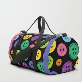 Colorful Rainbow Buttons Duffle Bag
