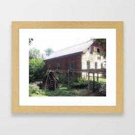 Waco Mill Framed Art Print