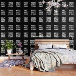 World's Okayest Co-worker (Black & White) Wallpaper
