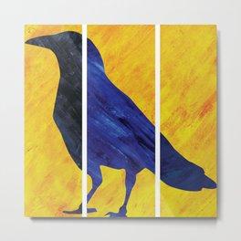 Color Crow Metal Print