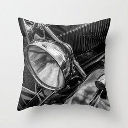 Classic Britsh MG Throw Pillow