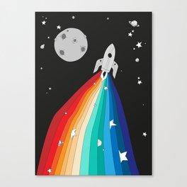Magic Rocket Canvas Print