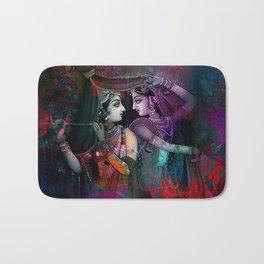 Radha Krishna- the divine Bath Mat