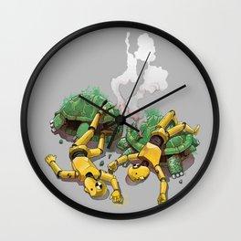 Crash test Wall Clock