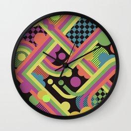 Multi-Color Geometric Fantasy Wall Clock