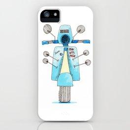 we love vespa iPhone Case