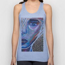 $ colorful coins $ Unisex Tank Top