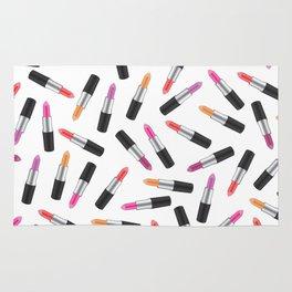 Lipstick Collage Rug