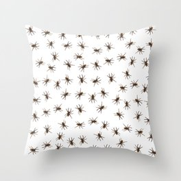 House spiders Throw Pillow