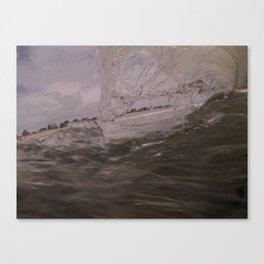 warped wave Canvas Print
