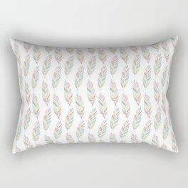 Feathered Rectangular Pillow