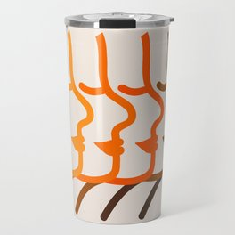 Golden Silhouettes Travel Mug