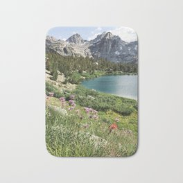 Sierra Alpine Wildflowers Bath Mat