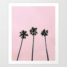 Cali Vibe Art Print