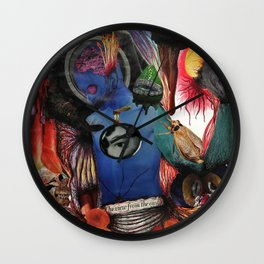 The view from the castle Wall Clock