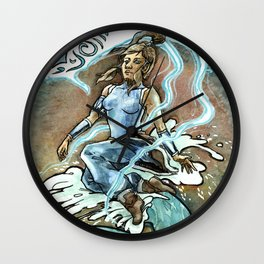 Avatar Korra & Raava Wall Clock